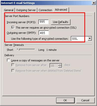 Smtp server port numbers - Smtp and pop3 port number ...